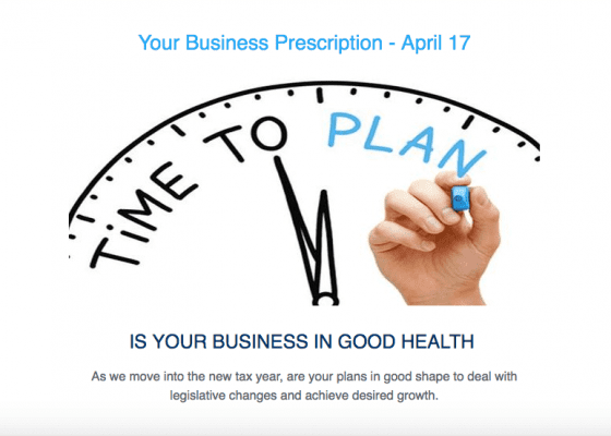 Is your business in good health