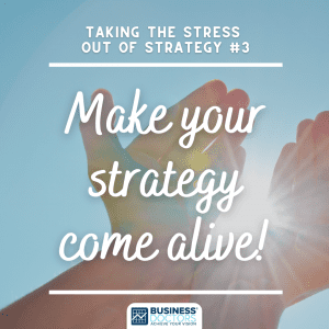 Make your strategy come alive
