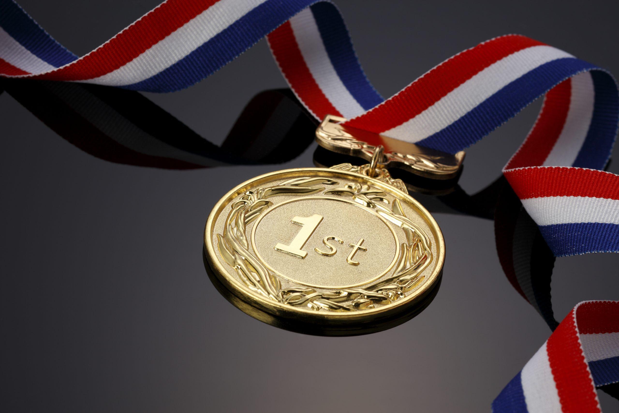 1st Gold Ribbon